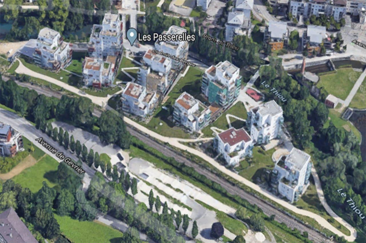 """Projet de construction d'un éco quartier dénommé """"Les Passerelles"""""""