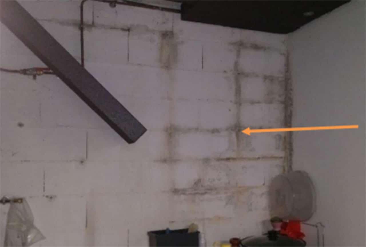Infiltrations en sous-sol et fissures à Bonneuil sur Marne 94381