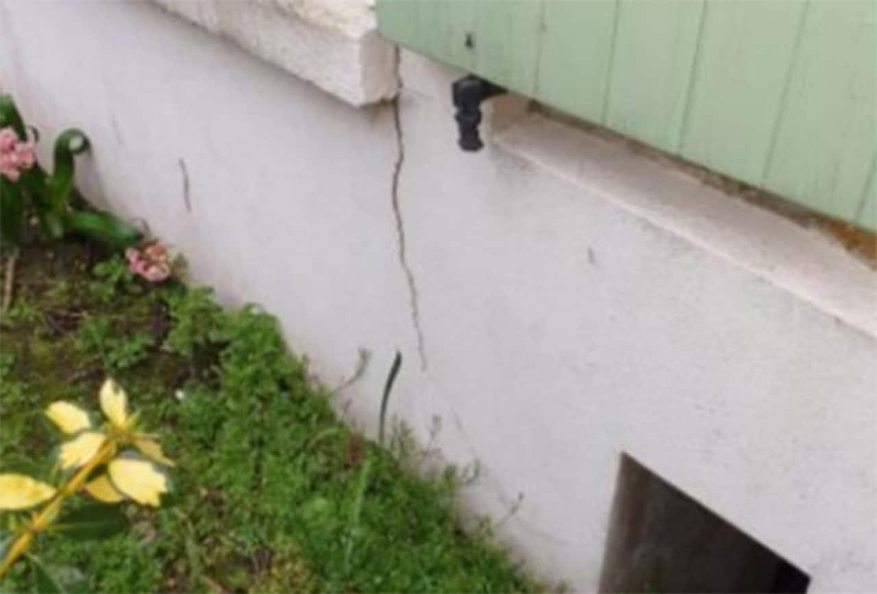 Présence anormale de fissure dans une maison dans l'Essonne 91240