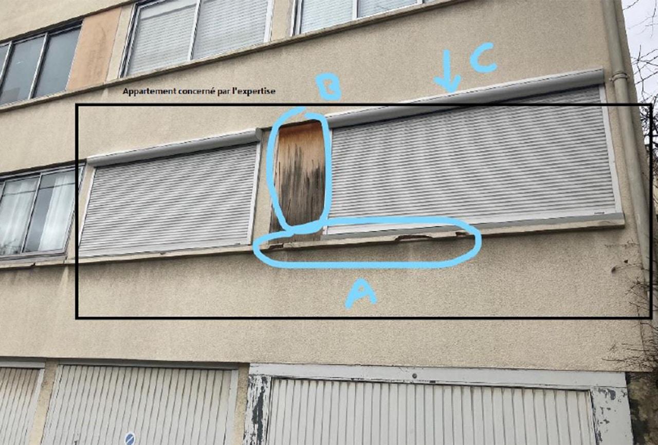Soucis d'humidité dans un logement à Chatou 78400