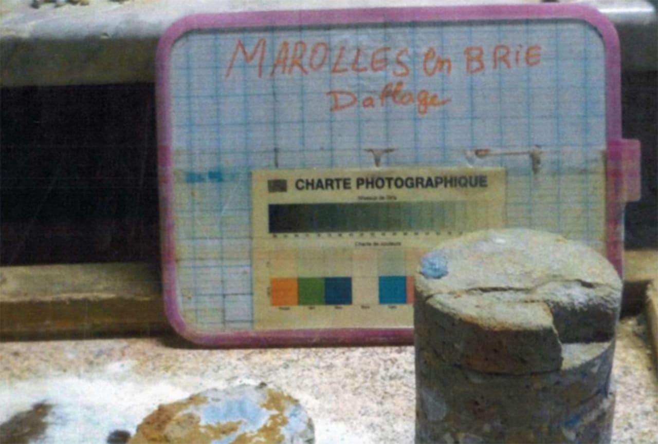 Diagnostic géotechnique suite à un sinistre sur un pavillon à Marolles-en-Brie 94440